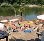 stadtstrand yoga